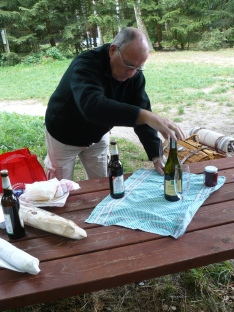 Picknick - das ist besser als im Restaurant. 5-Sterne-Picknick